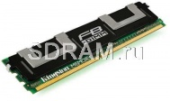 4GB DDR2 PC5300 FB-DIMM ECC Fully Buffered CL5 Kingston ValueRAM dual rank x4 Intel Validated