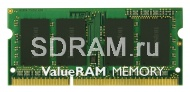 4GB DDR3 PC8500 SO-DIMM CL7 Kingston ValueRAM